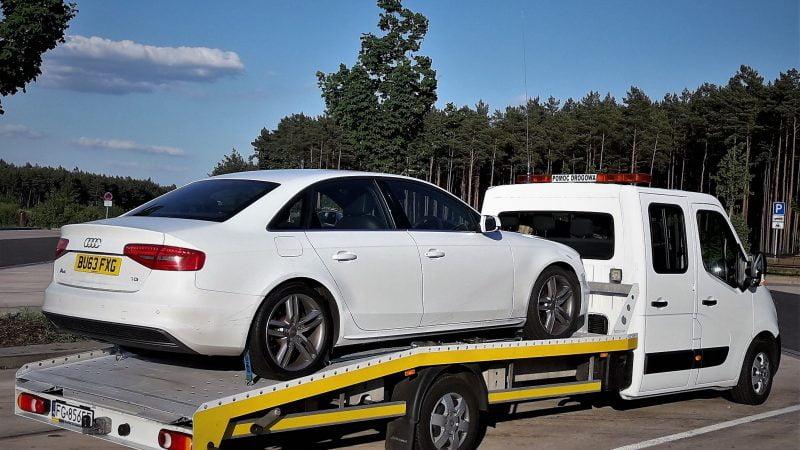 Polska Autolaweta na terenie Niemiec